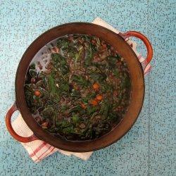 Lentil & Spinach Soup