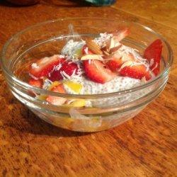 Mango-Coconut Chia Pudding