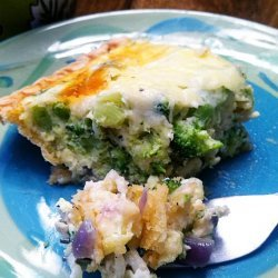 Veggie Bacon Quiche