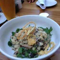 Mushroom Risotto to Die For