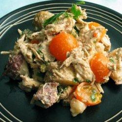 Mediterranean Chicken and Potato Salad
