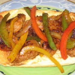 Sausage and Pepper Subs recipe