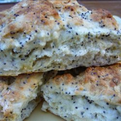 Fat Free Lemon-Poppy Seed-Scones