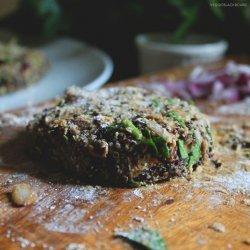 Quinoa and Mushroom Veggie Burgers