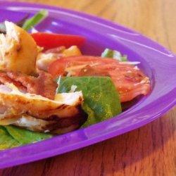 Sriracha Grilled Chicken Salad