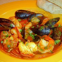 Quick  n  Easy Bouillabaisse for Two