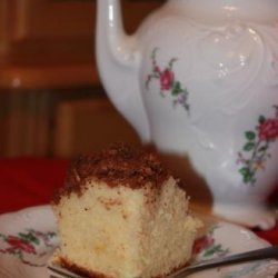 Tropical Coffee Cake recipe