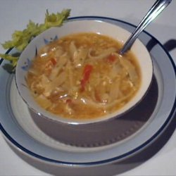 Sweet and Sour Egg Drop Soup recipe