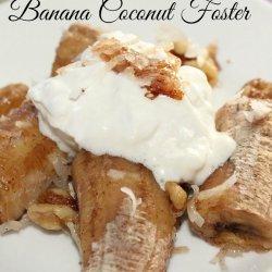 Banana Coconut Dessert