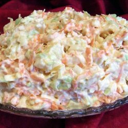 Carrot and Pineapple King Coleslaw