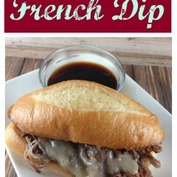 Easy Crockpot French Dip