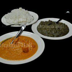Butter Chicken With Spinach & Basmati