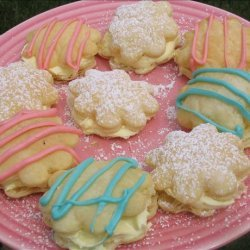Lemon Cream Napoleons recipe