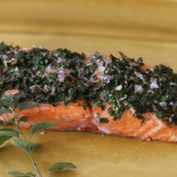 Baked Herb Crusted Salmon