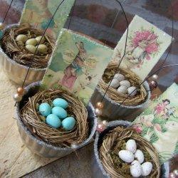 Jello Eggs in a Basket