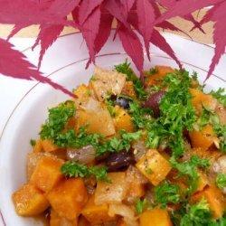Sweet Potato Salad (Slada Batata Hilwa) -Moroccan