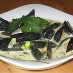 Thai Mussels With Jasmine Rice