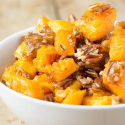 Butternut Squash With Pecans