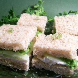 Cucumber and Mastershalum Tea Sandwiches (-- Tasty Dish--)