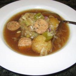 German Style Potato Soup