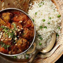 Indian Lamb Meatballs in Curry Sauce