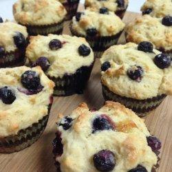 Lemon Muffins W/Yogurt