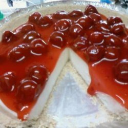 Easy No Bake Cherry Cheesecake recipe