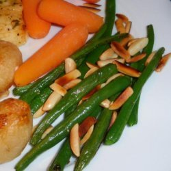 Easy Green Beans With Almonds