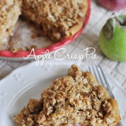 Apple Crisp with a Difference
