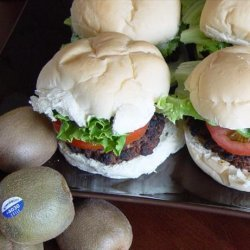 A Kiwi Warrior Burger for the Barbie - Barbecue!
