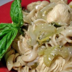 Lemon Chicken With Basil recipe
