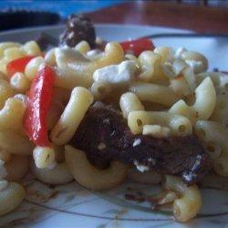 Thai-Inspired Steak and Pasta  Salad