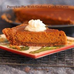 Ww Pumpkin Pie With Graham Cracker Crust