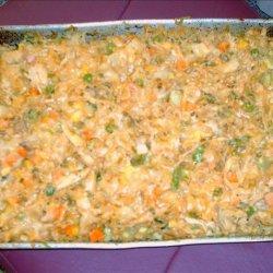 Brindy's Birthday Turkey Spiral Pasta Dinner Bake