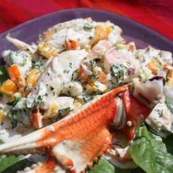 Confetti Crab Salad