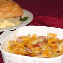 My Way Creamy Sauce - Ham Casserole