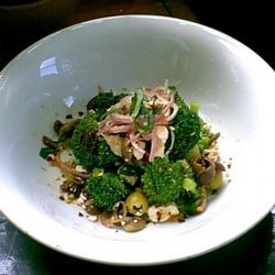 Carianne's Broccoli, Green Olive and Sun-Dried Tomato Salad