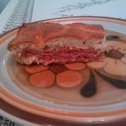 Bisquick Baked Reuben Sandwich recipe