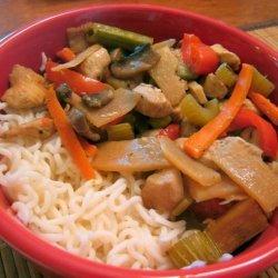 Chicken Ginger Pot recipe