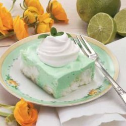 Luscious Lime Angel Squares
