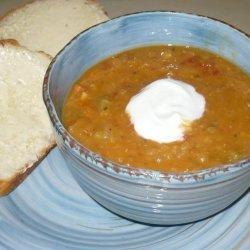Lentil Soup Bread