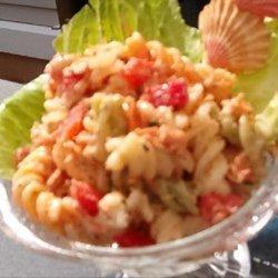 Salmon Fusilli Salad recipe