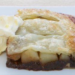 Chocolate & Pear Jalousie