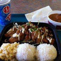 Chili Garlic Chicken and Rice