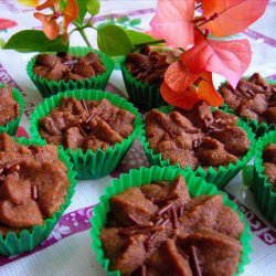 Crunchy Piped Chocolate Cookies