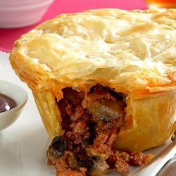 Beef & Red Wine Pies