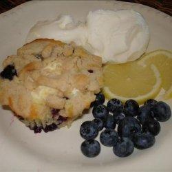 Blueberry Cheese Buckle (Walt Disney World)