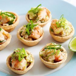 Prawn and Crab Tarts