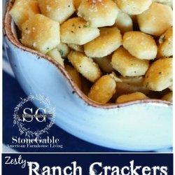 Zesty Ranch Crackers