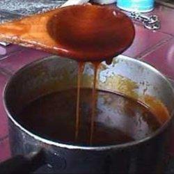 Ginger Molasses BBQ Sauce